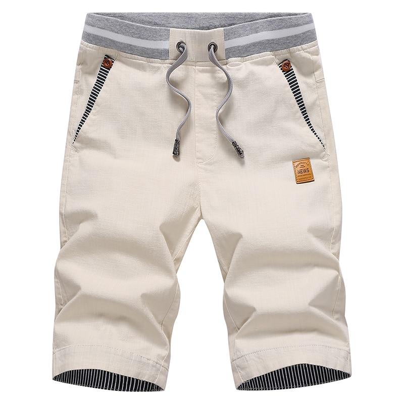 2016 unique pocket fashion men summer shorts drawstring beach shorts moletom masculino M 4XL CCL152