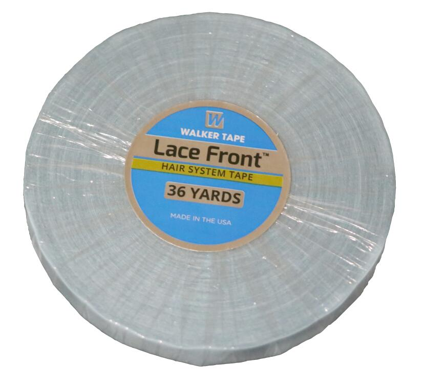 Lace front support strong double tape for skin weft/ pu weft/toupees /wig double tape hair tape