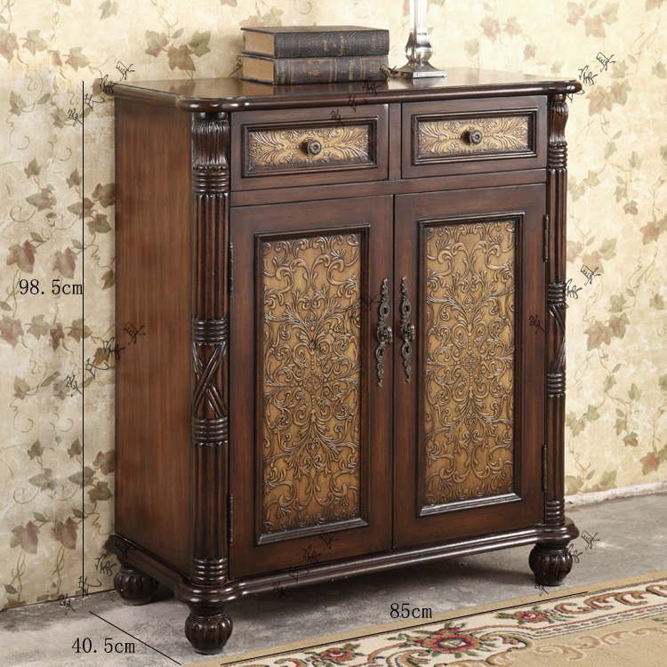 American Rural shoe cabinet, European style cabinet, antique, old living  room shoe cabinet, new classical storage - aliexpress.com - imall.com - American Rural Shoe Cabinet, European Style Cabinet, Antique, Old