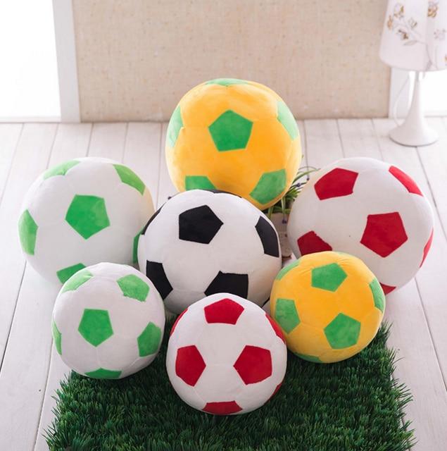 Us 629 10 Off1 Stks 23 Cm Grappig Creative Voetbal Pop Pluche Speelgoed Speelgoed Mooie Kinderen Voetbal Vormige Kussen Kussen Cadeau Geven In 1