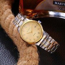 Reloj de lujo WEISIKAI, reloj mecánico automático Número Romano para hombre, relojes de acero inoxidable a prueba de agua, reloj masculino genuino