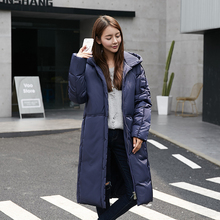 Decently 2015 Winter Jacket Women Duck Down Thick parka Lengthen blouses Woman Coat RUS Free Shipping