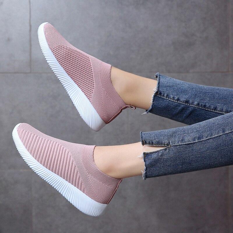 Marche Femmes Mode Plus Chaussures À Mocassins Taille Rose Plat Bleu f7bgy6