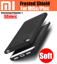 Xiaomi mi5s case оригинальный catman полное покрытие матовое щит для xiaomi mi5s плюс песчаника case мягкий матовый случаи mi 5S