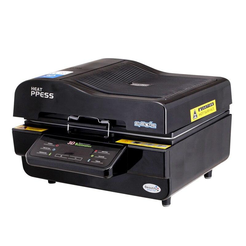 Free ship new 3D Sublimation Vacuum Heat Transfer Press Printer Machine ST3042
