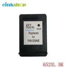 For HP 652 Black Ink Cartridge 652XL For HP Deskjet 1115 1118 2135 2136 2138 3635 3636 3835 4535 4536 4538 4675 4676 Printer все цены