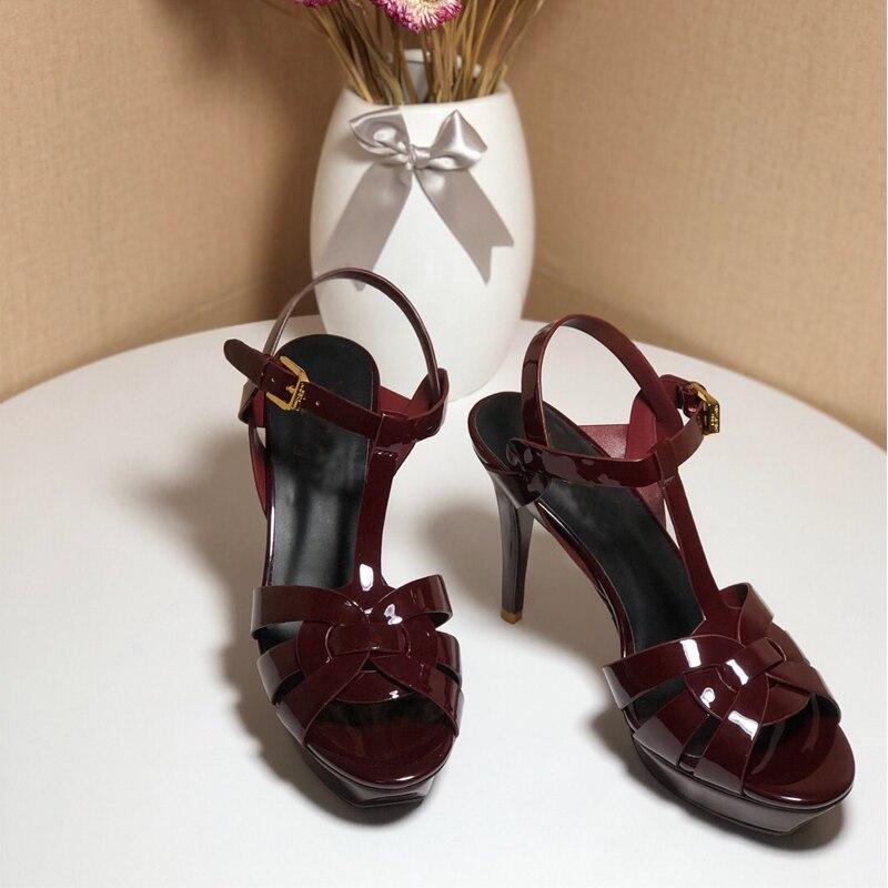 Здесь можно купить  Gladiator Women Criss Cross Straps High Heeled Sandals Pink Black Wine Red Summer Dress Wedding Party Sandals Shoes Zapatos  Обувь