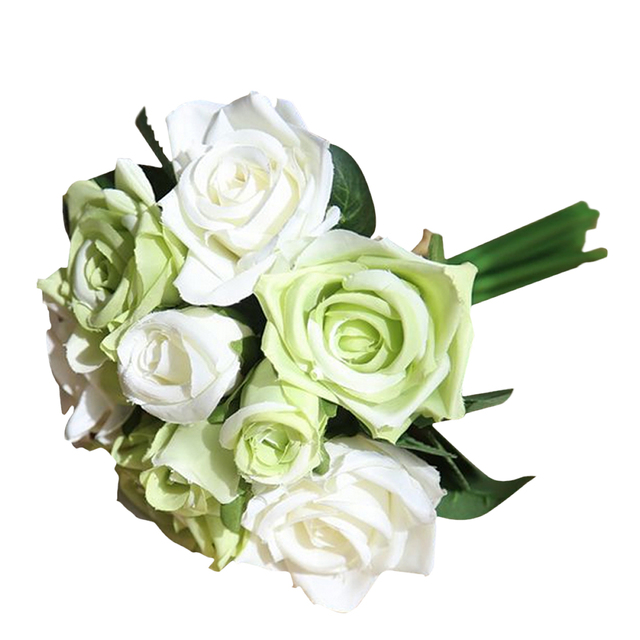 SURWISH Artificial Plant Simulation flower Ornament for Home Party Wedding Decoration Home Decor