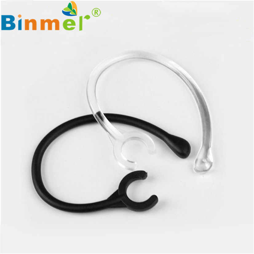 BINMER 6pc Ear Hook Loop Clip Replacement Bluetooth Repair Parts One size fits most 6mm High Quality Futural Digital F25