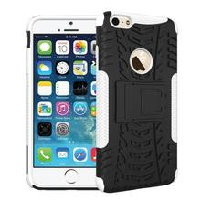 Man Bag For Apple iPhone 6 Plus 5.5 Tire Case Heavy Duty Rugged Cover PC+TPU Hybrid Stand Hardcore
