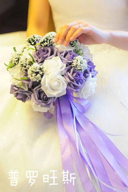cheap flowers for wedding bouquet aliexpress buy cheap wedding bouquet 2604