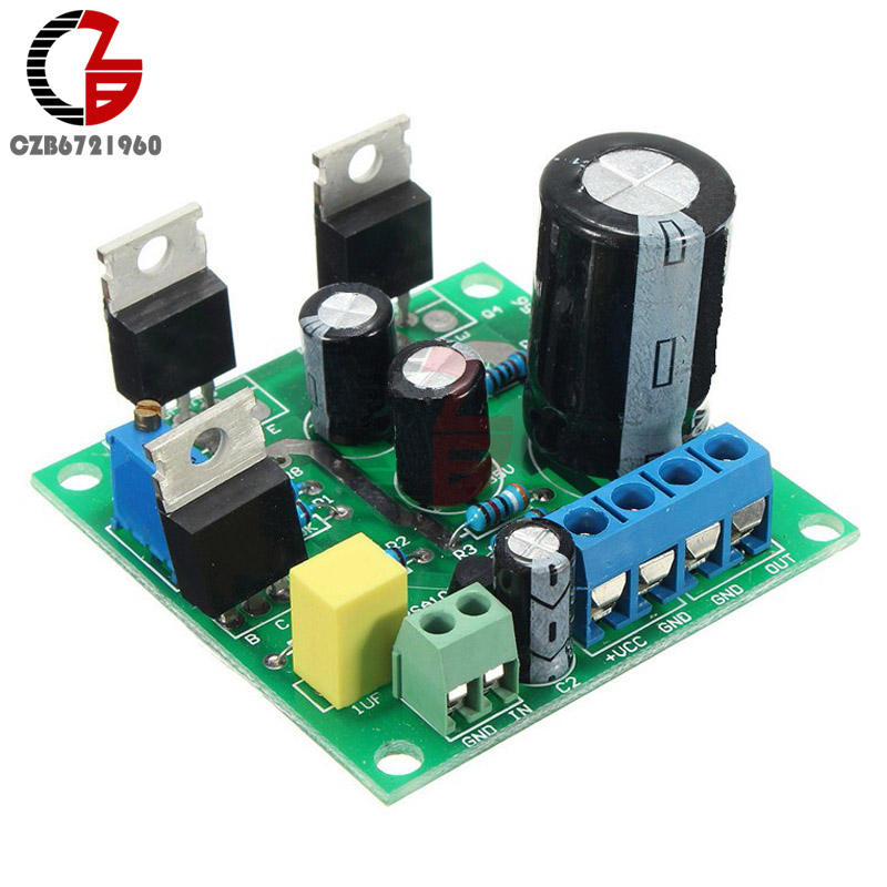 Mini Assembled TIP41C 1 Channel Mono Amplifier Board Pure Class A Sealed Multi-turn Adjustable Resistor Audio Sound Amplifier