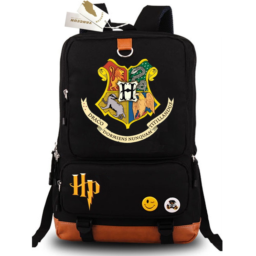 Movie Harri Potter School Bags Book Backpacks Children Bag Shoulder Bag Rucksack Students Backpack Travel Bag for teenagers future diary mirai nikki backpack anime school bags for teenagers students book bags cartoon schoolbag travel backpacks