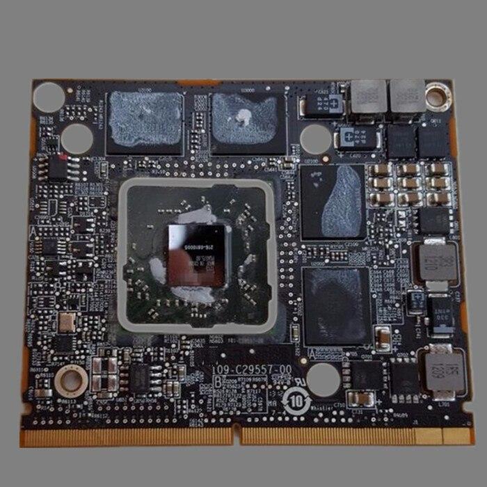 Original HD 6770M HD6770M 512MB GPU Video Card Graphic Card For Apple iMac 21.5 A1311 HD 6770M109-C29557-00 216-0810001 original genuine hd 8490m hd8490m 1gb 1024mb graphic card for dell hd8490 display video card gpu replacement tested working