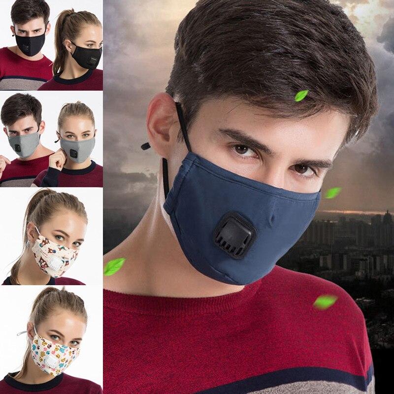Masken Ordentlich 1 Pcs Mund Gesicht Maske Baumwolle Staubdicht Atmungs Pm2.5 Für Outdoor Radfahren Winter Bs88 Rabatte Verkauf