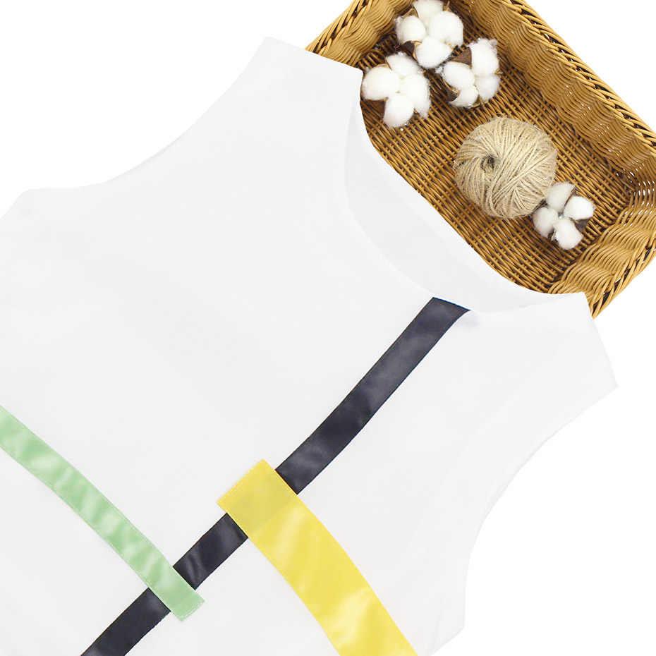 Летняя одежда для девочек, мягкий хлопковый жилет + шорты, летняя одежда для девочек из 2 предметов, модная детская одежда для подростков 6, 8, 10, 12, 13, 14 лет