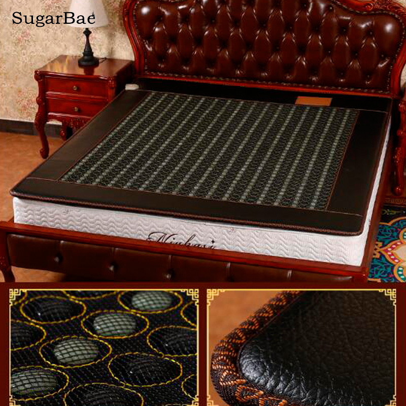 2017 Hot Sale Jade&Tourmaline Mixed Stone Heated Therapy Bed Mattress Free Shipping For Sale