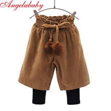 Фотография Girls Korean winter boots pants 2017 autumn and winter new children