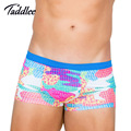 Taddlee Brand Men Underwear Sexy Boxer Shorts Trunks High Rise Big Size Elastic Boxers Gay Penis Pouch Wonderjock Soft Colors