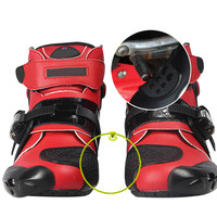 Motorcycle Boots Shoes Racing Speed Motorbike Shoes Moto Boot Riding Boots Ankle Men Cycling Sports