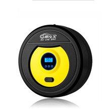 Xách tay 12 v Car Auto Electric Air Compressor Tire Inflator Bơm 3 m Dài Mở Rộng Dây Điện Thuốc Lá Nhẹ Hơn Cắm với ĐÈN LED