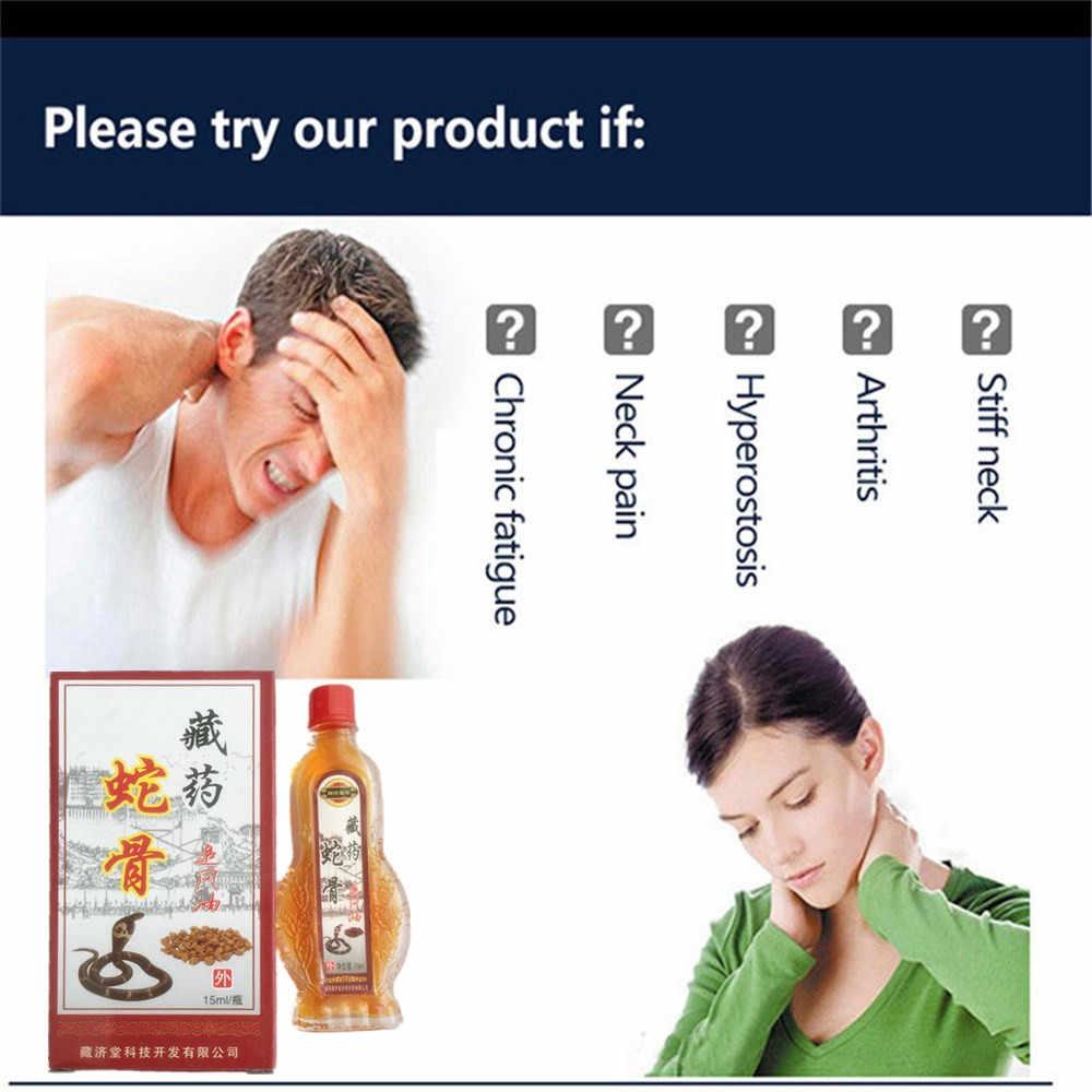 DISAAR 15 ml Medicina Cinese King cobra Venom Sollievo Dal Dolore olio Essenziale di Gesso Lontano IR Alleviare Il Dolore di Patch