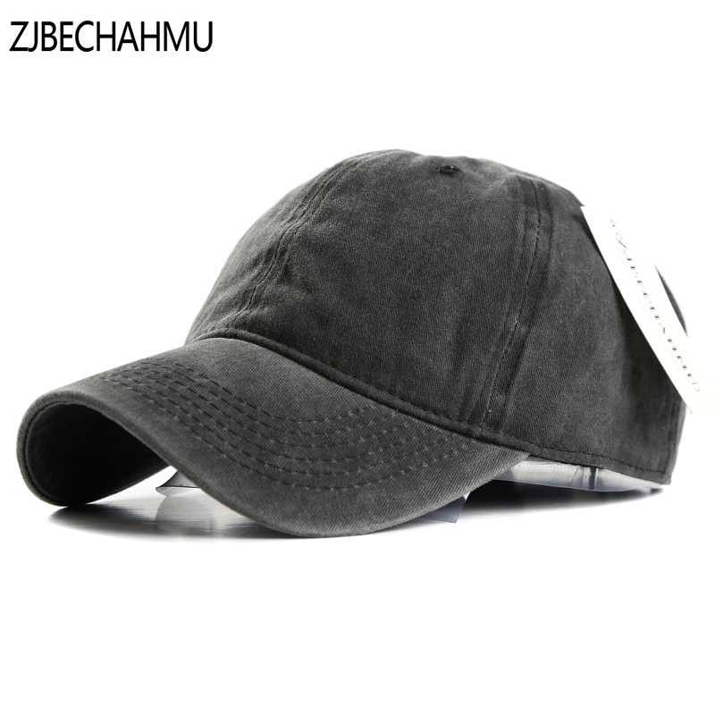 ZJBECHAHMU Hats Spring Cotton Solid Adjustable Baseball Caps Snapback Hat For Men Women Hip Hop Caps For Apparel Accessories the latest style exquisite fashion accessories motors racing team cotton snapback hats caps hip hop