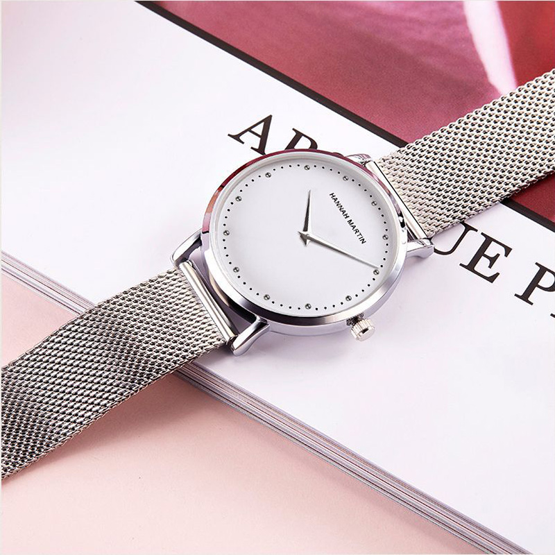New Top Brand Luxury Women Crystal Watches Fashion Japan Quartz Stainless Steel Silver Waterproof Wrist watches relogio feminino in Women 39 s Watches from Watches