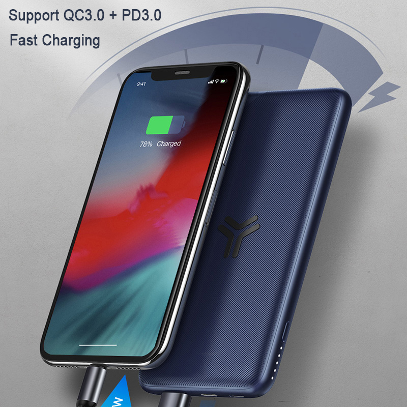 Image 5 - Baseus 10000 mah Real Capacity Wireless charger Power Bank Support PD3.0+QC3.0 Fast Charger For iPhone X Samsung Huawei-in Mobile Phone Chargers from Cellphones & Telecommunications