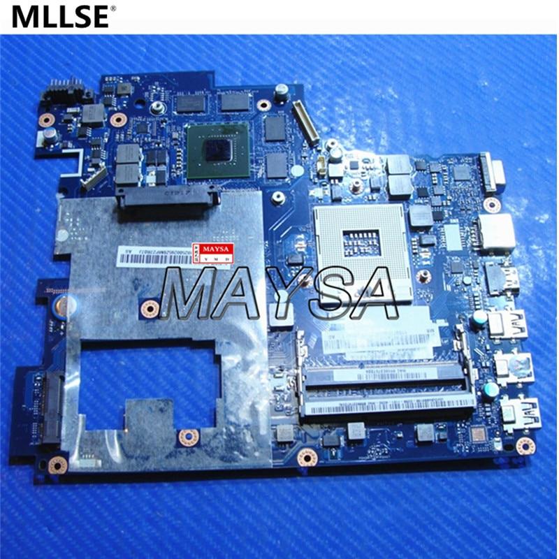 все цены на  laptop motherboard fit for Lenovo Ideapad G780 17.3'' QIWG7 LA-7983P HM76 PGA989 DDR3 GT635M 2GB Mainboard 100% working  онлайн