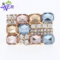 Clips de zapatos tienda de decoración accesorios Del Zapato zapato clip rhinestones cristalinos del encanto de metal material N511