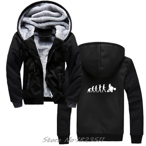 Image 1 - Erkekler kalın kapüşonlu Sweatshirt evrim dört hoodie dörtlü Off Road bisiklet sıkıntılı hoodies Hip Hop Hoody ceket Tops