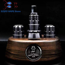E Cigarette 900 bf rda MTL 316 ss 18mm diameter low-loader rebuildable atomizer VS Goon Loop V1.5 RDA Tauren Drop Bonza