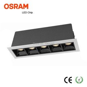 Image 2 - ליניארי להב לייזר LED downlight COB ניתן לעמעום 10 W 20 W 30 W שקוע led למטה אור ספוט תקרת הר פלאש פנים מיני אור