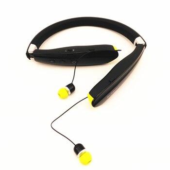 Suicen SX-809 Sports Bluetooth headphones Portable Wireless Headset Handsfree Speaker Anti-lost Retractable Foldable Earphone
