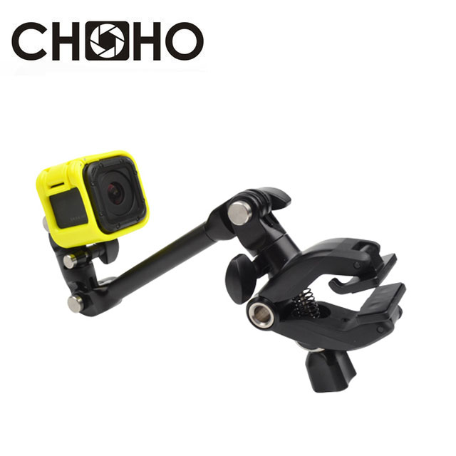 Clamp Clip Mount Self Sticks Flex Jaws Music <font><b>guitar</b></font> Arm for GoPro Hero 8 7 6 5 4 3 Xiaomi YI 4K SJ4000 SJ5000 SJ6000 Accessories image
