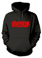 Kreator Logo Hoodie M L XL Black Hooded Sweatshirt Official Band Hoody