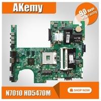 CN 04DKNR 04 DA0FM9MB8D1 Principal board Para dell Studio 1558 Laptop Motherboard 4DKNR HD5470 DDR3 CPU Livre