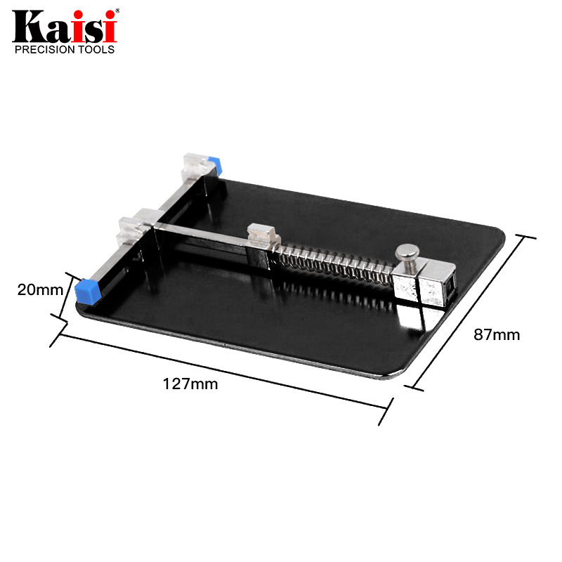 Kaisi Universal Metal PCB Board Holder Jig Fixture Work Station for iPhone Samsung Mobile Phone PDA MP3 Repair Tool universal smart phone repair holder herramientas pcb board holder work station for iphone mobile phone repair tools