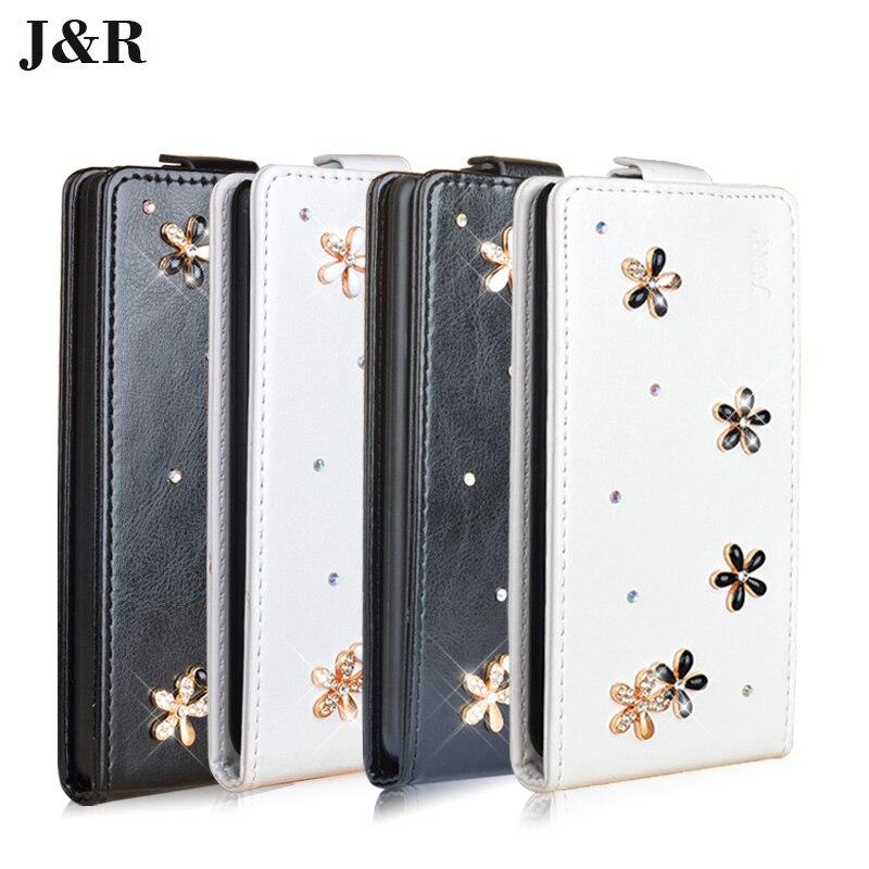 Alta calidad flip case de cuero para philips w8510 teléfono móvil case cubierta