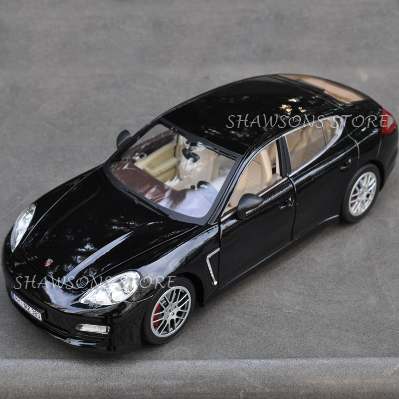 Diecast Metal Car Model Toys 1:18 Panamera Alloy Miniature Replica Collection