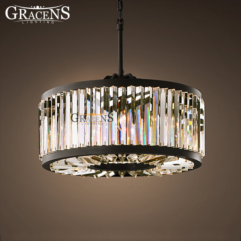 Round Chandelier Light: Modern Crystal Chandelier Light Minimalist Creative Hollow Round Chandelier  Lamp Fixture Vintage Style for Household Living,Lighting