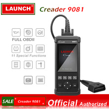 Launch DIY Scanner CReader 9081 Full OBD2 Scanner/Scan Tool Diagnostic OBDII+Oil+EPB+BMS+SAS+DPF+TPMS ABS Bleeding CR9081