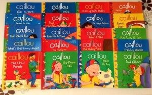 Image 3 - Neue 20 bücher/set Caillou Klassische Nordamerikanischen bildung eltern kind lesen bild buch Englisch geschichte buch für kinder geschenk