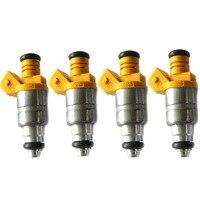 4/Set Fuel Injector Nozzle 96620255 96518620 96351840 Fits for Chevrolet Daewoo Matiz 0.8 1.0