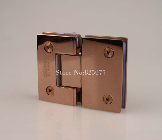 Charmant Rose Gold 180 Degree Hinge Open 304 Stainless Steel Glass Shower Door Hinges  For Home Bathroom