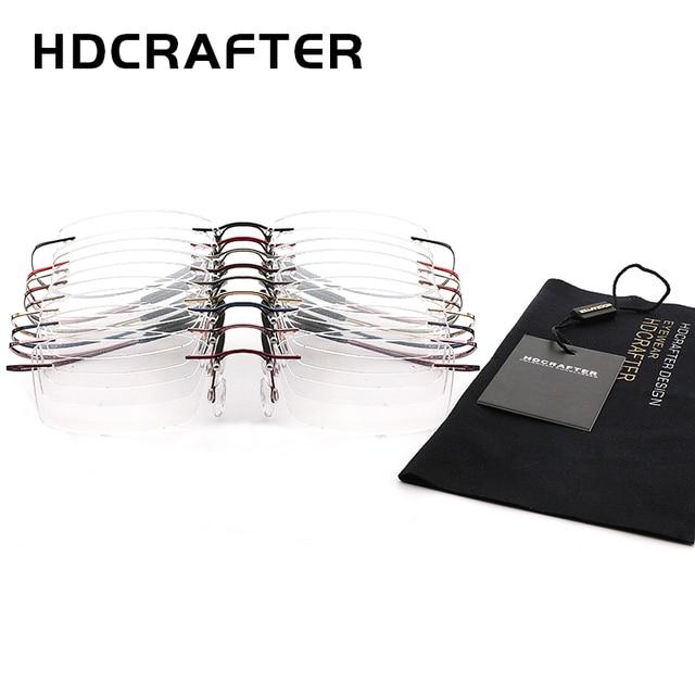 HDCRAFTER Lightweight Titanium Eyeglasses  4