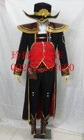 2017 Горячая Игра LOL с надписью Twisted Fate Master Card Косплэй костюм костюмы на Хэллоуин ручной работы индивидуальный заказ в Любой Размер