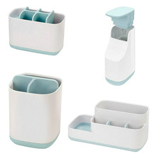 Plastic Makeup Storage Organizer Toothbrush Box Holder Rack Toothbrush Dispenser Cup Soap Container Bottle Bathroom Accessories dropship plastic suction cup soap toothbrush box dish holder drain rack bathroom shower accessory bathroom accessories