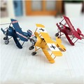 New Arrival Retro Vintage Plane Airplane Model Aircraft Home Decoration Toy Gift For Children Adult